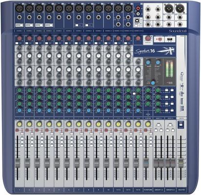 Soundcraft SIGNATURE16 16+2/2 Live-/Rec Desk, USB