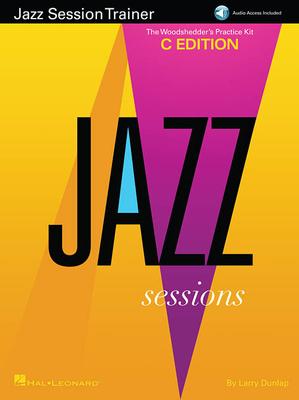 Jazz Instruction / Jazz Session Trainer The Woodshedder's Practice Kit  C Edition   Hal Leonard C instruments / Larry Dunlap / Hal Leonard