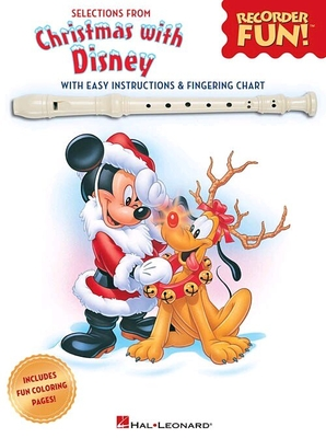 Christmas With DisneySelections From Recorder Fun /  / Hal Leonard