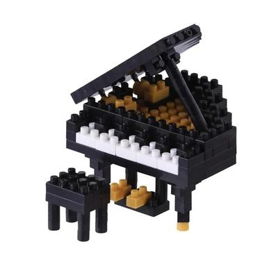 Marbel Ltd Nanoblock: Grand Piano Black 2 – Jeu de construction 170 pièces