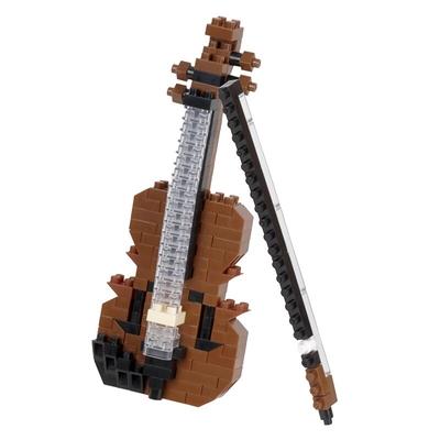 Marbel Ltd Nanoblock: Violin Jeu de construction 180 pièces