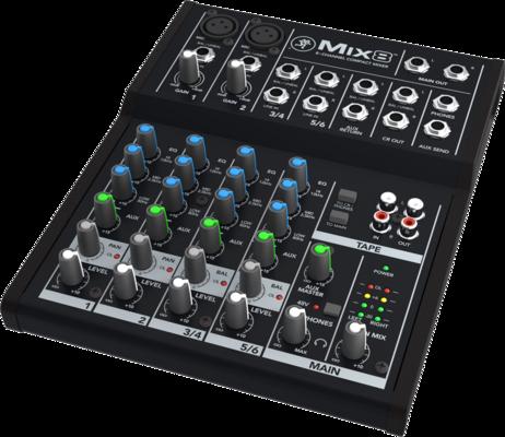 Mackie Mix8 8 Canaux