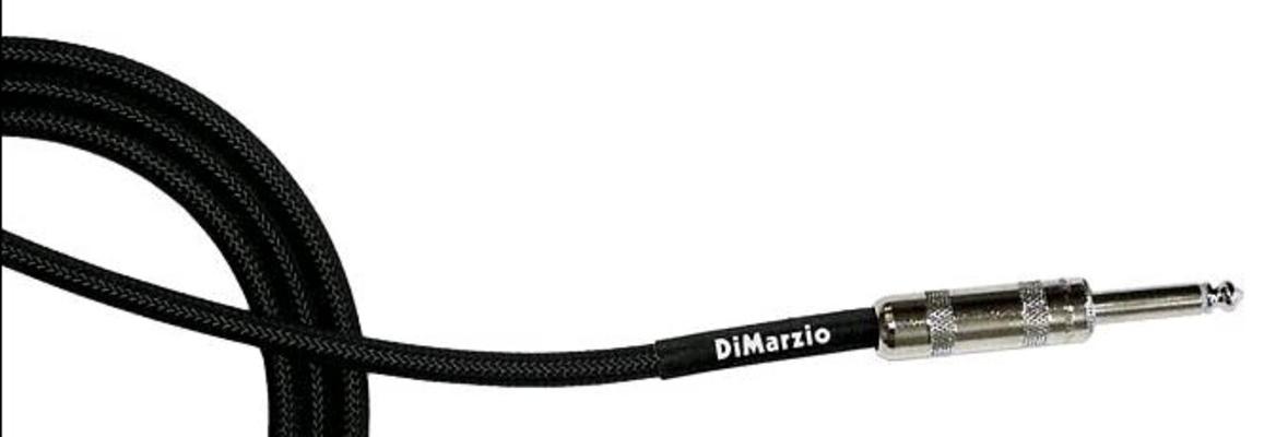 DiMarzio EP1715SRBK Type Vintage 450cm Electric Black Droit/coudé