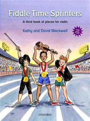 Fiddle time Sprinters a third book of pieces / Blackwell Kathy & David / Oxford University