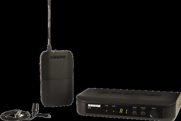 Shure BLX14E/CVL-M17 PG Wireless Analog, Taschensender, ohne miks