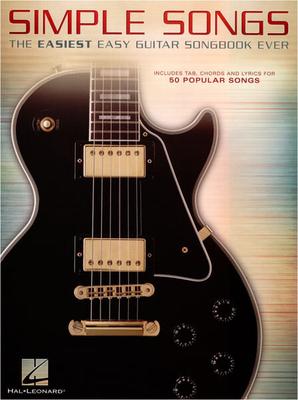 Simple Songs Easiest Easy Guitar Songbook /  / Hal Leonard
