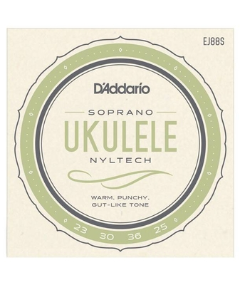 D'Addario EJ88S Soprano »Nyltech» (Aquila) .024-.026 Natural Nylon
