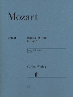 Mozart Rondo Ré majeur KV 485 / Wolfgang Amadeus Mozart / Henle Verlag