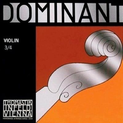 Thomastik Dominant Violon 3/4 3e RE-D aluminium Moyen