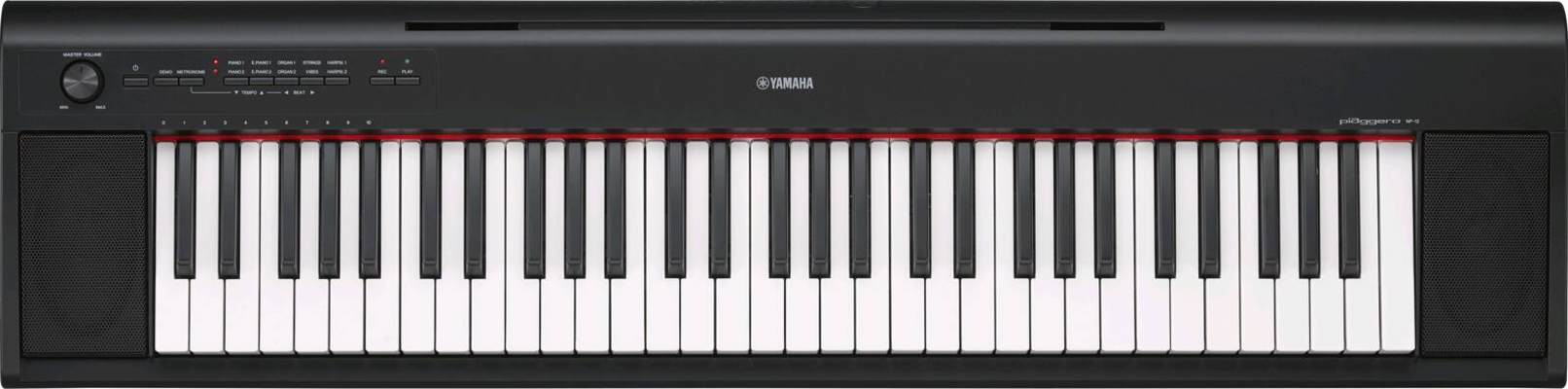 Yamaha NP-12B Portable Grand Black 5 octaves