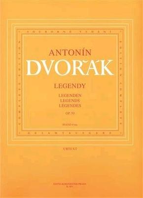 Dvorak Legends Opus 59 pour 4 mains / Antonn Dvok Frantisek Bartos / Bärenreiter
