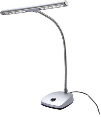 K & M 12297 LED piano lamp – silver