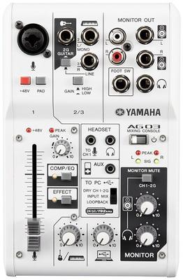 Yamaha ProAudio AG 03 Console de mixage
