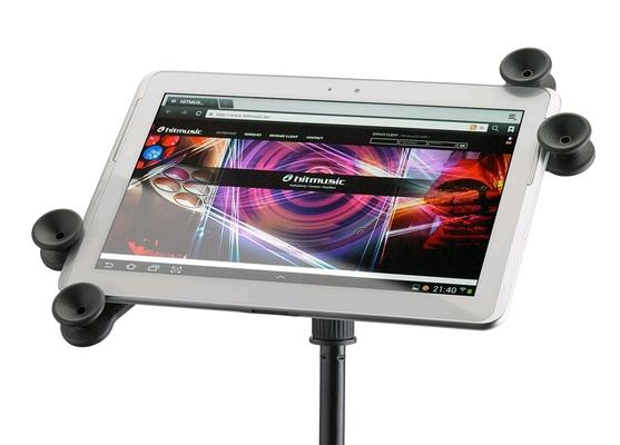 Audiophony MEDIA2 Support pour tablette à fixer sur pied de micro