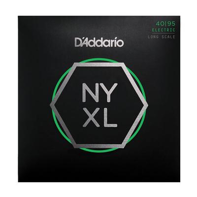 D'Addario NYXL4095 El. Bass »New York XL» .040-.095 Nickel R/W Long Scale, Super Light