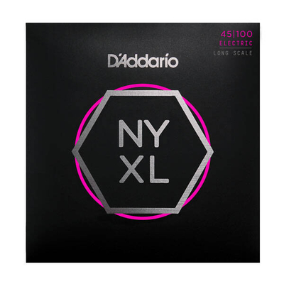 D'Addario NYXL45100 El. Bass »New York XL» .045-.100 Nickel R/W Long Scale, Regular Light