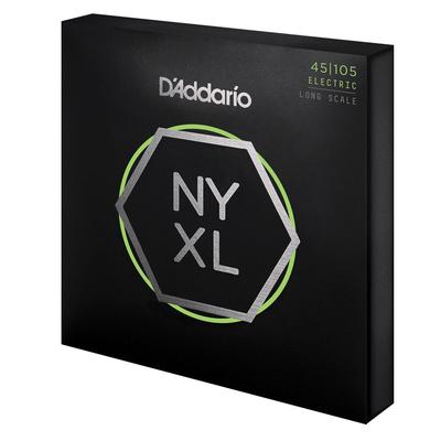D'Addario NYXL45105 El. Bass »New York XL» .045-.105 Nickel R/W Long Scale, Reg. Top / Med. Bottom
