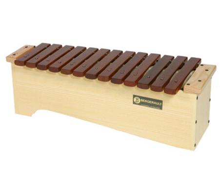 Bergerault Xylophone Alto Diatonique XAD En caisse
