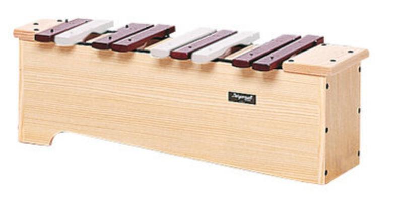 Bergerault Xylophone Alto XACH Partie chromatique en caisse