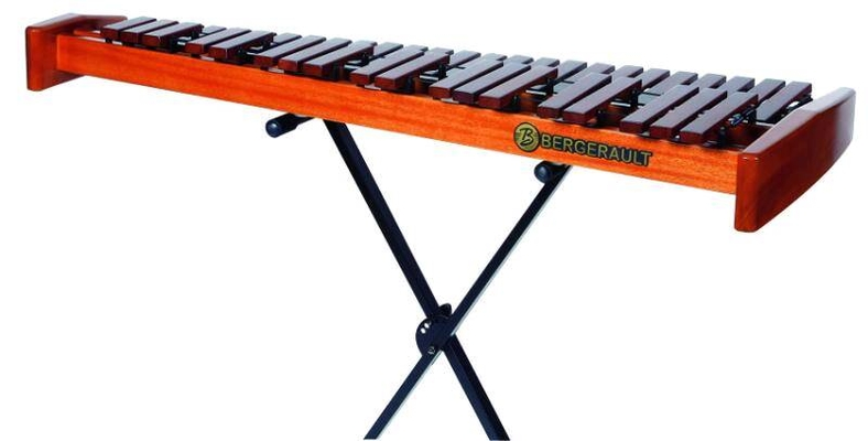 Bergerault Xilophone Table Top Performer XPTR35 3.5 octaves, clavier Palissandre