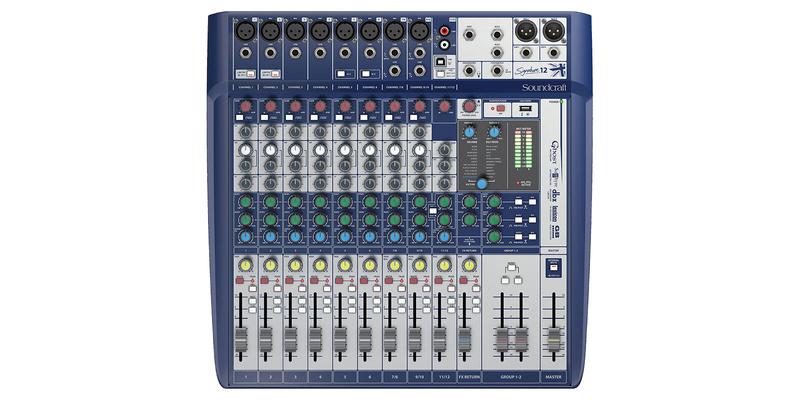 Soundcraft SIGNATURE12 12+2/2 Live-/Rec Desk, USB