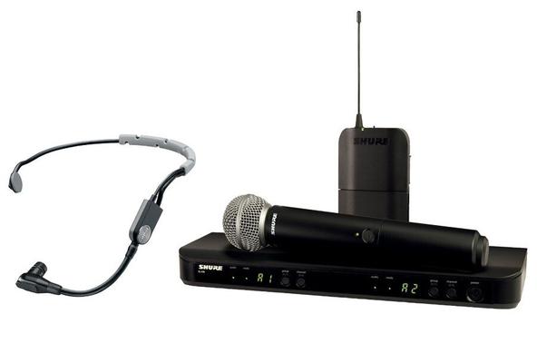 Shure BLX1288E/SM35-M17 SM Wireless Analog, Combo, SM35, SM58