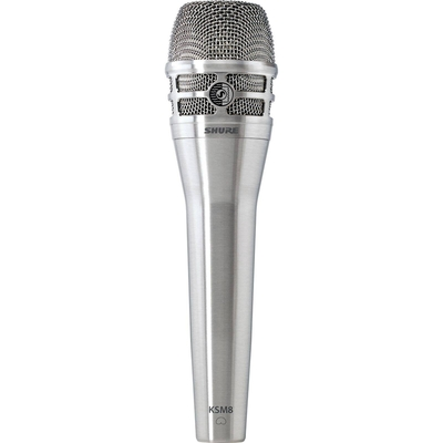 Shure KSM8 Dualdyne microphone dynamic nickel