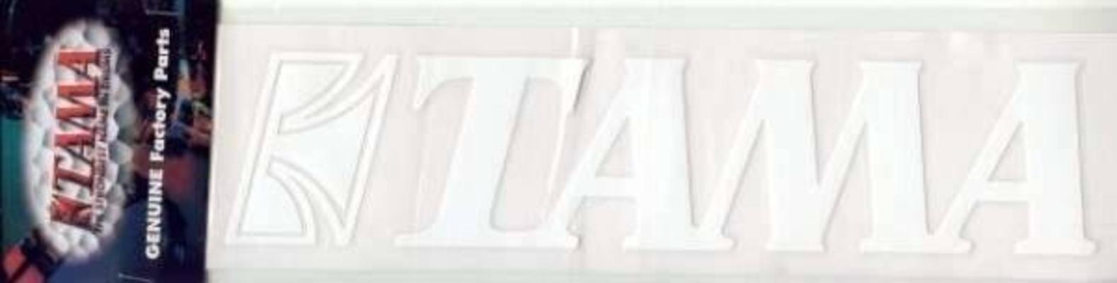 Tama TLS100WH Logo Tama blanc