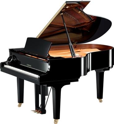 Yamaha Pianos Disklavier D C3X EN Pro PE , Noir poli-brillant, 186 cm