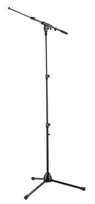 K & M 252 Stand micro avec perche noir pied en 2 parties