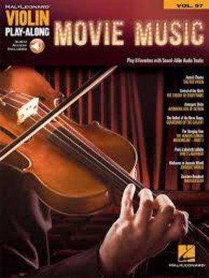 Violin Play-Along Volume 57: Movie Music (Book/Online Audio) /  / Hal Leonard