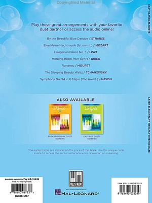Easy Classical Duets (Book/Online Audio) / Miller, Carolyn (Arranger) / Willis Music