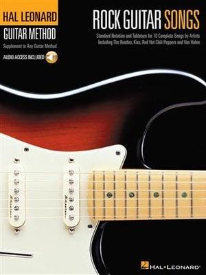 Hal Leonard Guitar Method: Rock Guitar Songs (Book/CD) /  / Hal Leonard