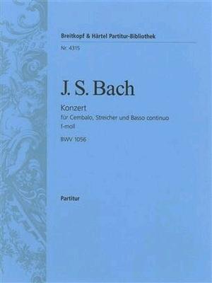 Cembalokonzert f-moll BWV 1056 / Johann Sebastian Bach / Breitkopf