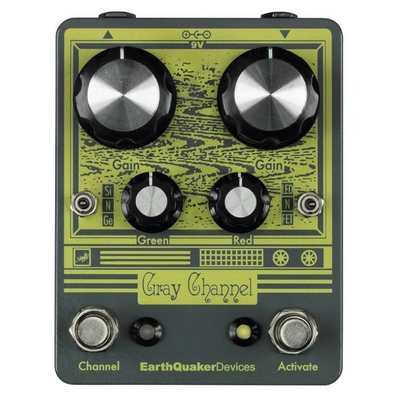 EarthQuaker Devices Gray Channel Overdrive à 2 cannaux