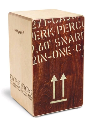 Schlagwerk Percussion CP404RED 2inOne Large Cajon Red Edition