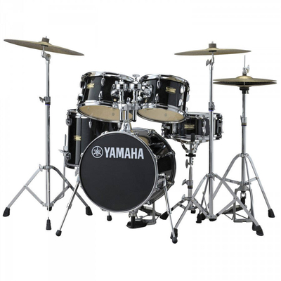 Yamaha Percussions JK6F5 Manu Katché Signature Raven black junior kit
