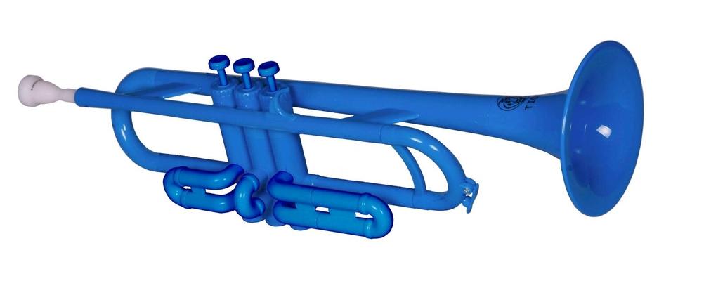 TROMBA Plastic Trumpet – Blue