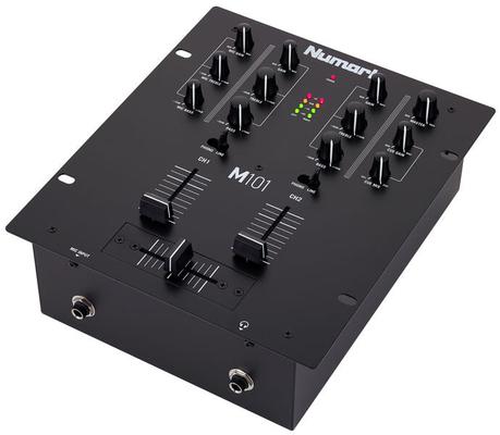 Numark M101 Black Analog Scratch Mixer