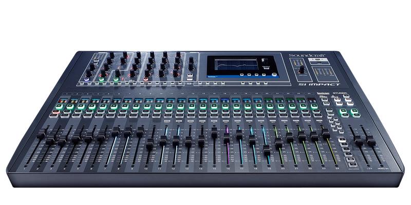 Soundcraft SI IMPACT Digital Mixing Desk, 26 Fader