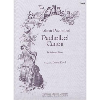 Canon Pachelbel / Johann Pachelbel / Theodore Presser