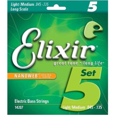 Elixir 14207 Kit 5 cordes
