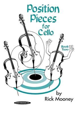 Position Pieces for Cello Book 2 / Mooney Rick / Alfred Publishing