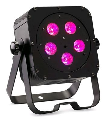 Contest irLEDFLAT-5x12SIXb Projecteur compact à LEDs six couleurs