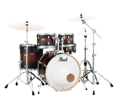 Pearl Decade Maple DMP925SP/C260 Satin Brown Burst + HWP-830 Hardware Pack BD22» Tom 10»,12» Floor Tom 16» snare 14»