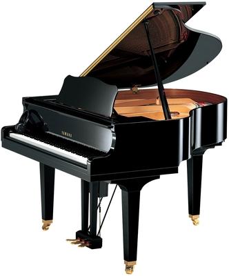 Yamaha Pianos Disklavier D GB1 EN PE Enspire Noir poli-brillant, 121 cm