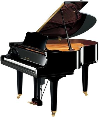 Yamaha Pianos Disklavier D GC1 EN PE Enspire Noir poli-brillant, 121 cm