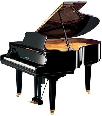 Yamaha Pianos Disklavier D GC2 EN PE Enspire Noir poli-brillant, 121 cm