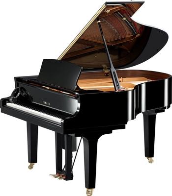 Yamaha Pianos Disklavier D C2X EN PE Enspire Noir poli-brillant, 173 cm