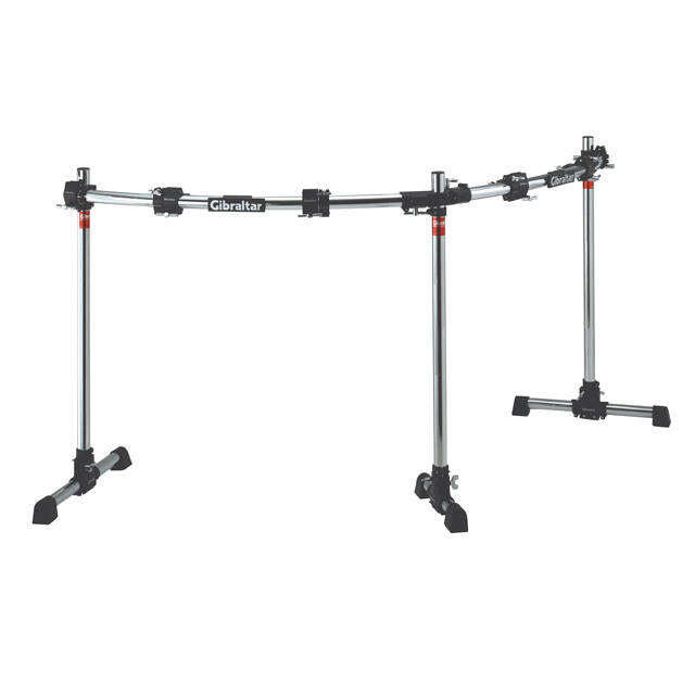 Gibraltar Rack system Road Series Curved Double Rack GRS-850DBL (4 Clamp inclus) : photo 1